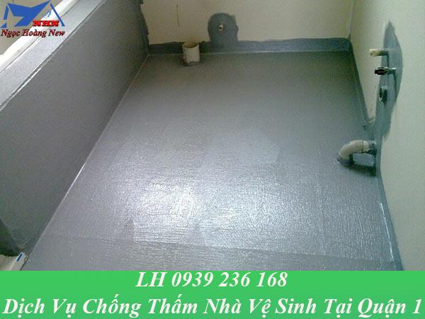 Dịch vụ chống thấm nhà vệ sinh tại quận 1 giá rẻ