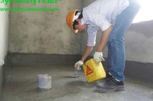 Thợ chống thấm nhà vệ sinh tại TP HCM