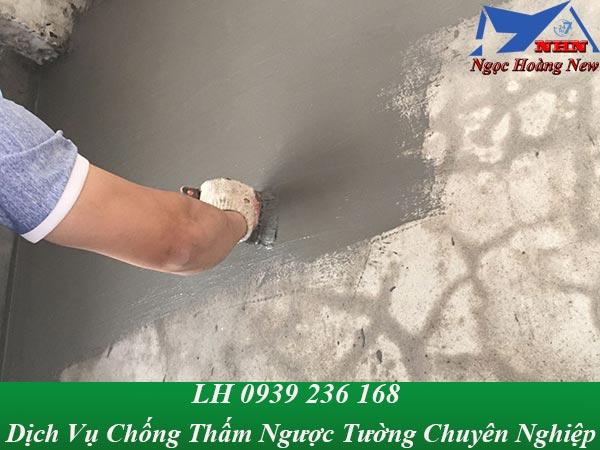 Dịch vụ chống thấm ngược chuyên nghiệp, xử lý thấm ngược tường nhà ở TPHCM