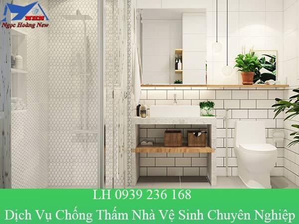 Dịch vụ chống thấm nhà vệ sinh chuyên nghiệp