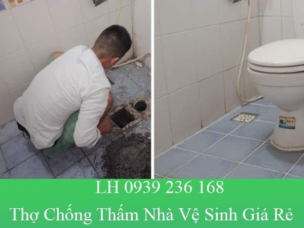 Thợ chống thấm nhà vệ sinh giá rẻ, chuyên nghiệp