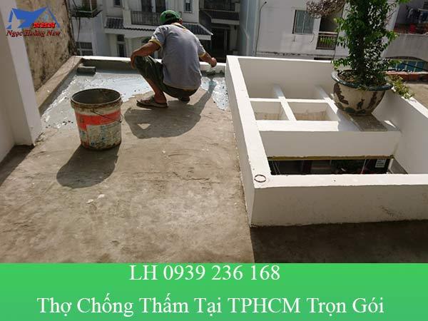 Thợ chống thấm tại TP HCM trọn gói, xử lý thấm chuyên nghiệp