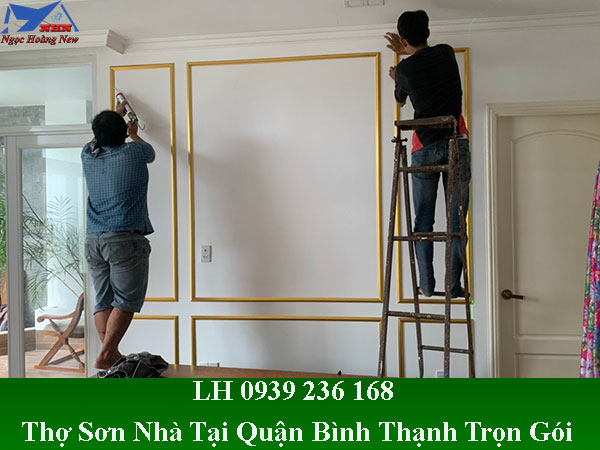 Thợ sơn nhà tại quận bình thạnh chuyên nghiệp