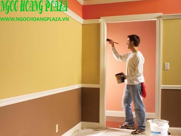 Thợ sơn nhà tại quận bình thạnh