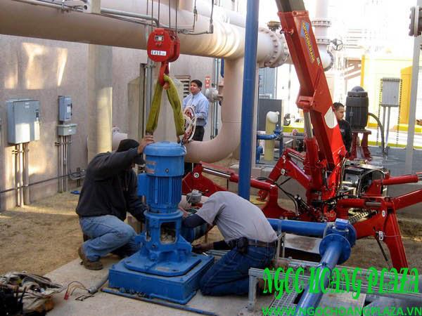 Thợ sửa máy bơm nước tại nhà quận 6
