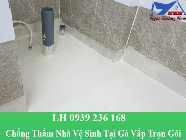 Chống thấm nhà vệ sinh tại quận gò vấp trọn gói