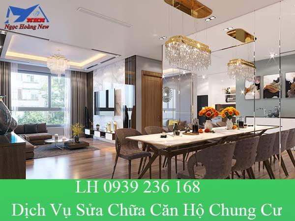 Dịch vụ sửa chữa căn hộ chung cư với phong cách hiện đại