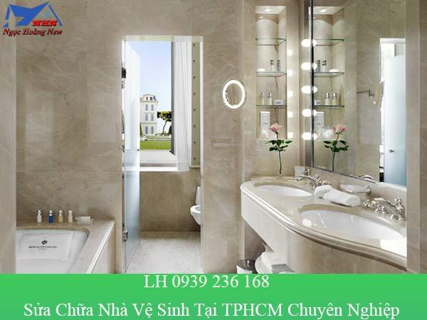 Sửa chữa nhà vệ sinh đẹp và chuyên nghiệp