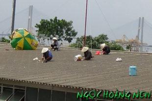 Thợ chống dột mái tôn tại quận 2