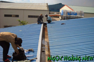 Thợ chống dột mái tôn tại quận 4 tphcm