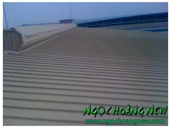 Thợ chống dột mái tôn tại quận 6 TP HCM
