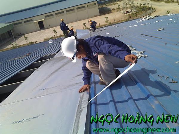 Thợ chống dột mái tôn tại quận 7 TP HCM