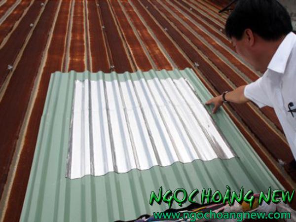 Thợ chống dột mái tôn tại quận tân phú tphcm
