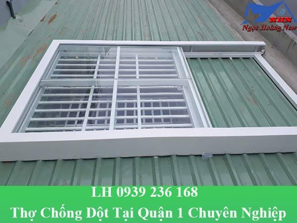 Thợ chống dột tại quận 1 chuyên nghiệp, xử lý dột mái nhà giá rẻ