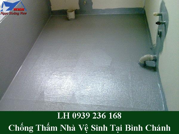 Dịch vụ chống thấm nhà vệ sinh tại bình chánh