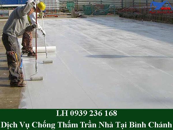 Dịch vụ chống thấm trần nhà tại bình chánh giá rẻ