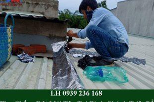 Thợ chống dột mái tôn tại bình chánh giá rẻ