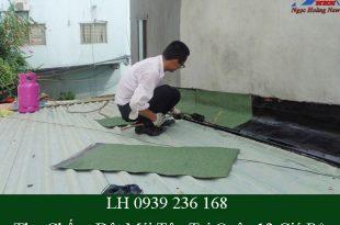 Thợ chống dột mái tôn tại quận 12 giá rẻ
