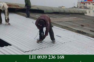 Thợ chống dột mái tôn tại quận 9 giá rẻ, triệt để 100%