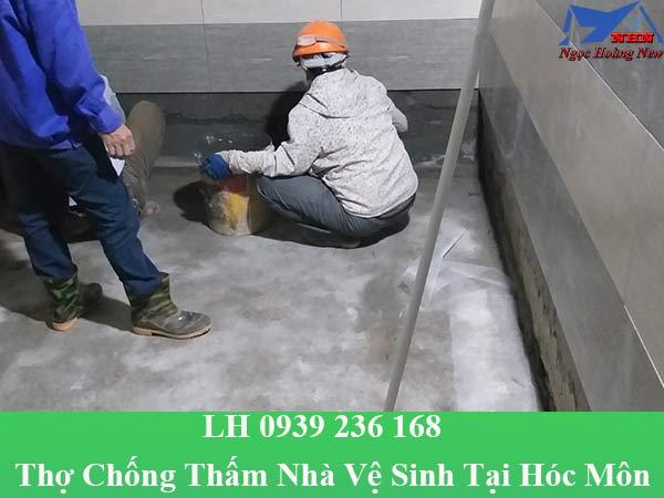 Thợ chống thấm nhà vệ sinh tại hóc môn giá rẻ