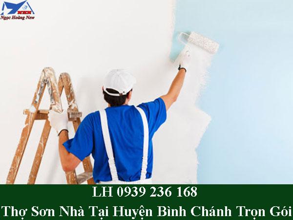 Thợ sơn nhà tại huyện bình chánh trọn gói
