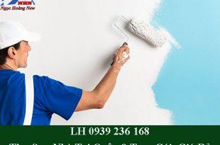 Thợ sơn nhà tại quận 9 trọn gói, giá rẻ