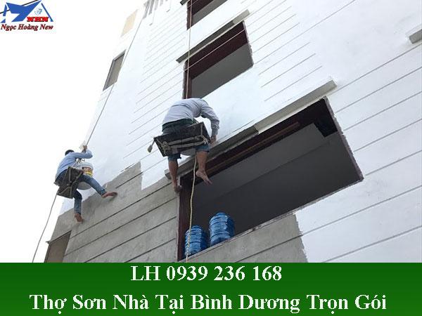 Thợ sơn nhà tại bình dương trọn gói