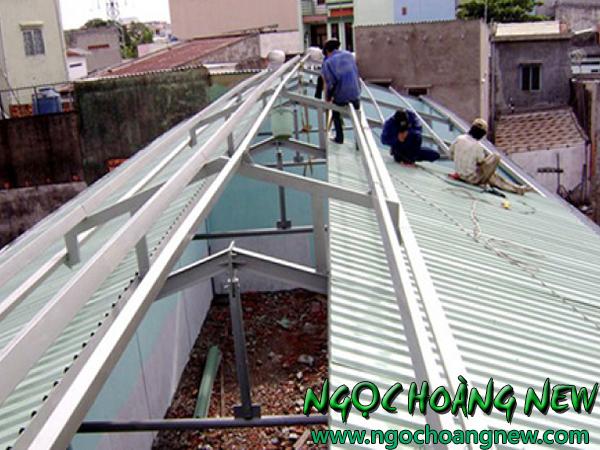 Làm mái tôn tại quận 1 TP HCM giá rẻ