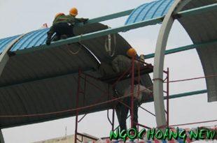 Thợ làm mái tôn tại quận tân bình