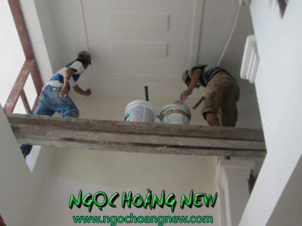 Dịch vụ sơn nhà đón tết trọn gói