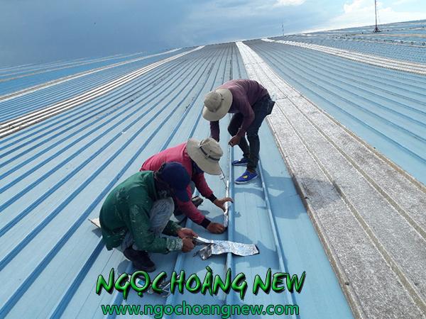 Chống dột mái tôn nhà xưởng tại TPHCM