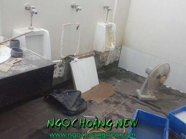 Dịch vụ sửa nhà vệ sinh tại TPHCM