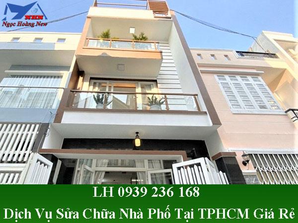 Dịch vụ sửa chữa nhà phố tại TPHCM giá rẻ