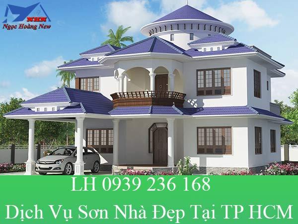 Dịch vụ sơn nhà đẹp tại TP HCM