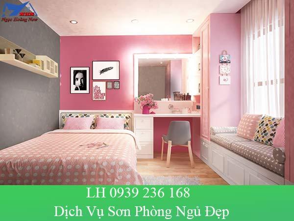 Dịch vụ sơn phòng ngủ đẹp