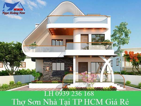 Thợ sơn nhà tại TP HCM giá rẻ