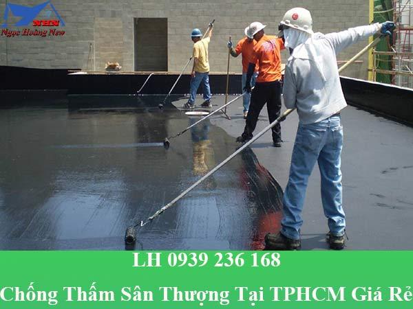 Thợ chống thấm sân thượng tại TPHCM giá rẻ